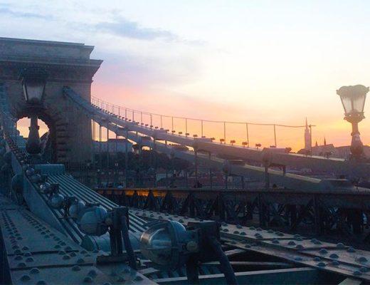 Kettingbrug Boedapest gesloten