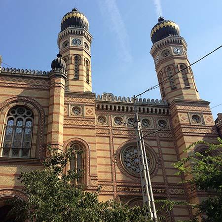 joods synagoge boedapest