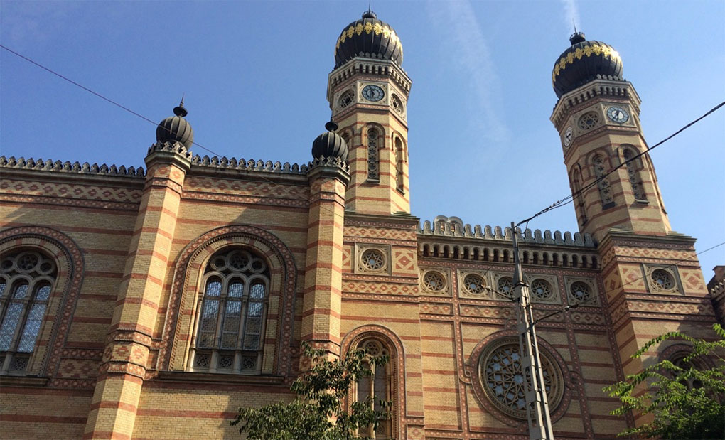 synagoge boedapest
