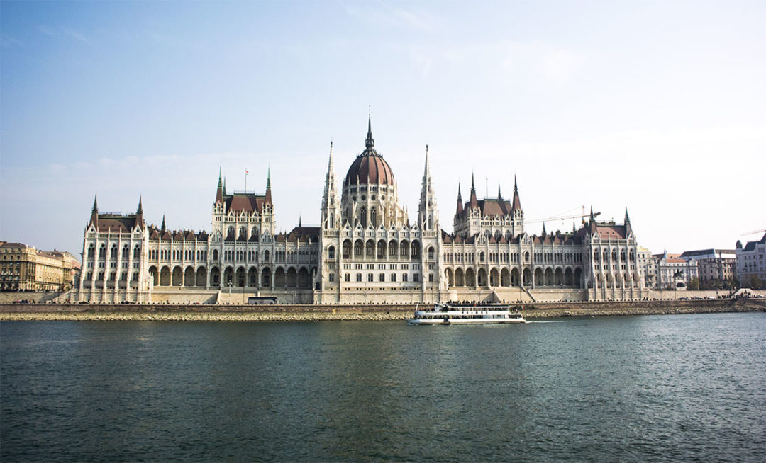 Parlementsgebouw Boedapest