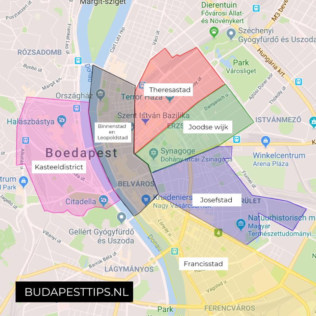 wijken boedapest