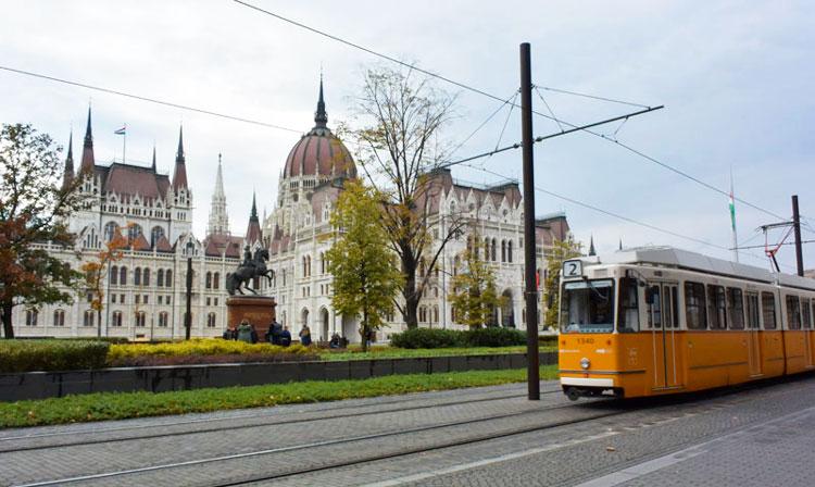 tram boedapest