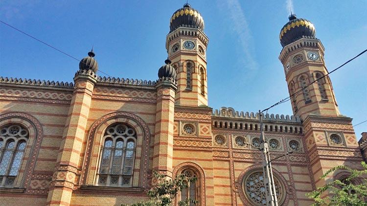 grote synagoge boedapest