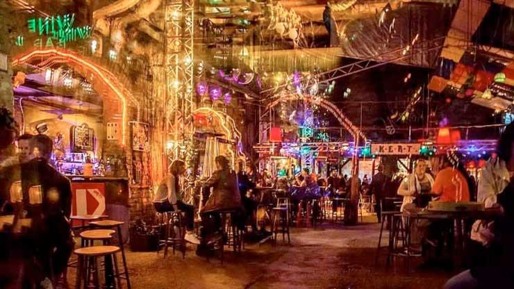 een ruine bar bezoeken in Boedapest